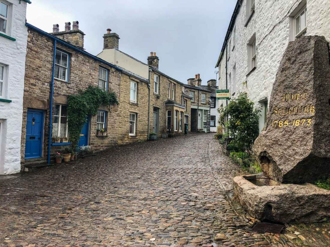 Dent village is one of the highlights of the Dales Way