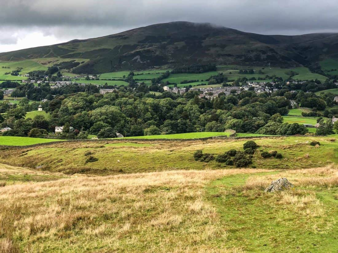 Sedbergh from the Dales Way
