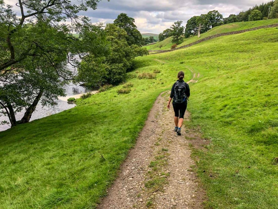 Day 1 of the Dales Way hike past Barden Bridge