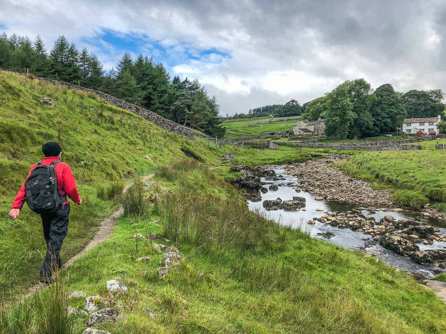 Dales Way packing list - what we wore on the Dales Way hike in northern England