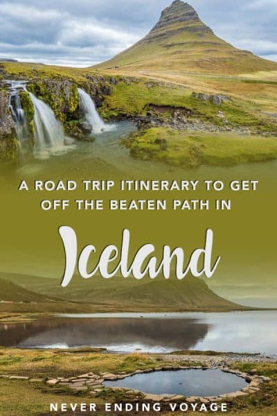 Can you get off the beaten path in Iceland? Yes! This Iceland itinerary will take you through the underrated Snæfellsnes and Westfjords! #iceland #icelanditinerary #wheretogoiceland #icelandoffthebeatenpath