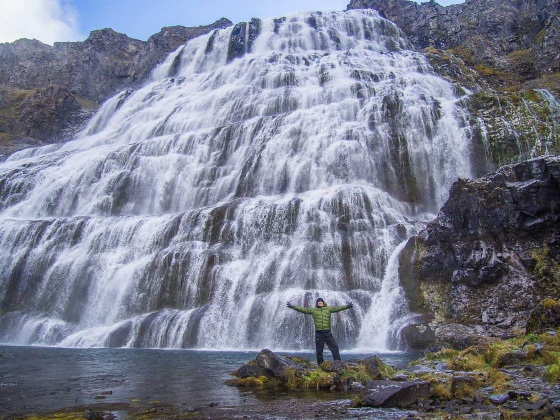 Dynjandi waterfall in Westfjords, a favourite stop on our Iceland itinerary