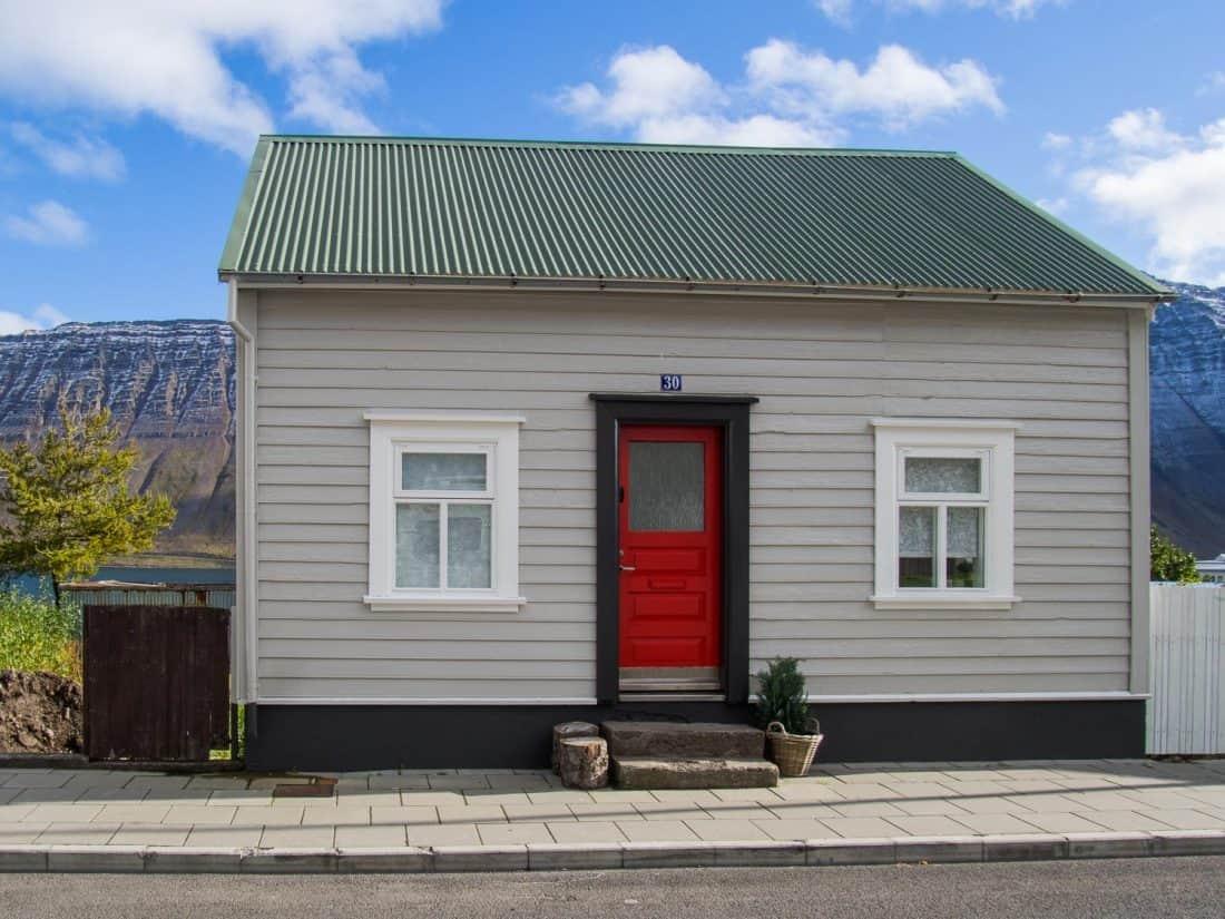 Airbnb in Ísafjörður, Westfjords in Iceland
