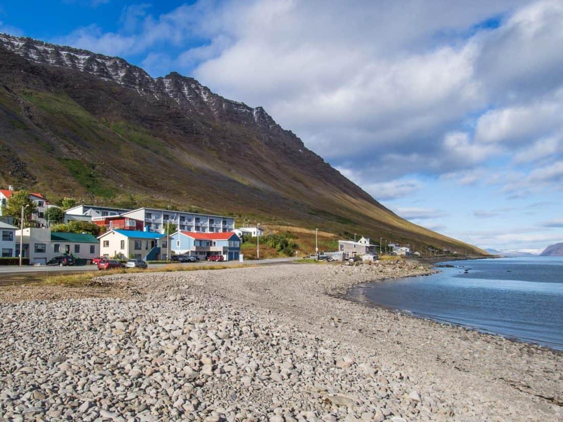 Ísafjörður in the Westfjords