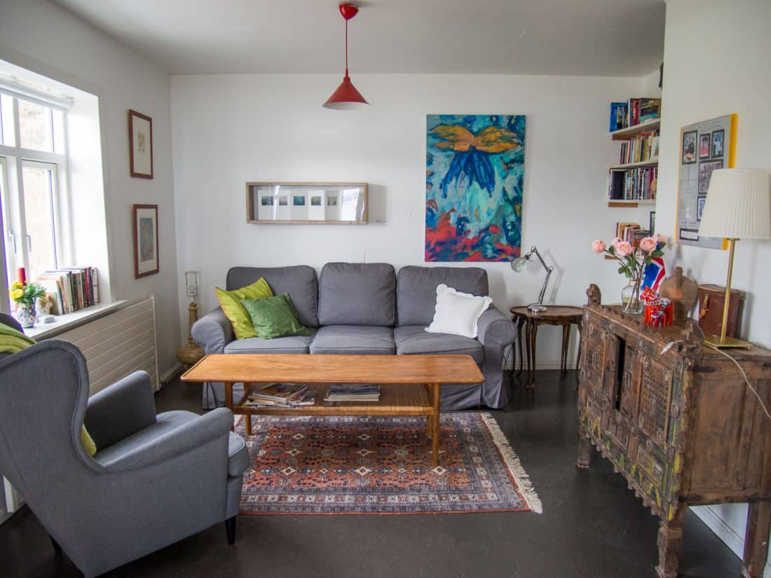 Our Holmavik Airbnb house in Iceland