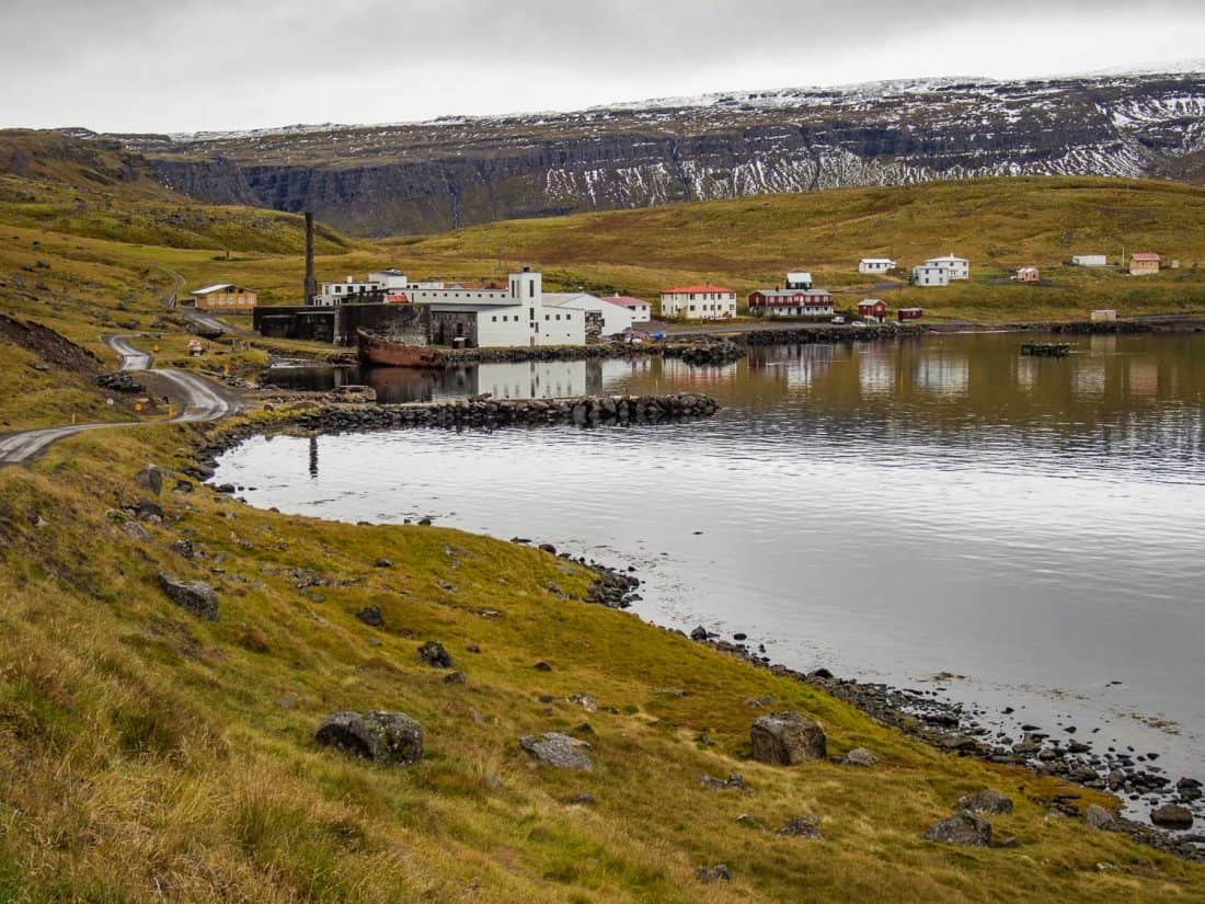 Djúpavík on the Strandir coast in Westfjords