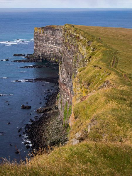 Látrabjarg Cliffs, a top spot to visit on a 7 day Iceland itinerary