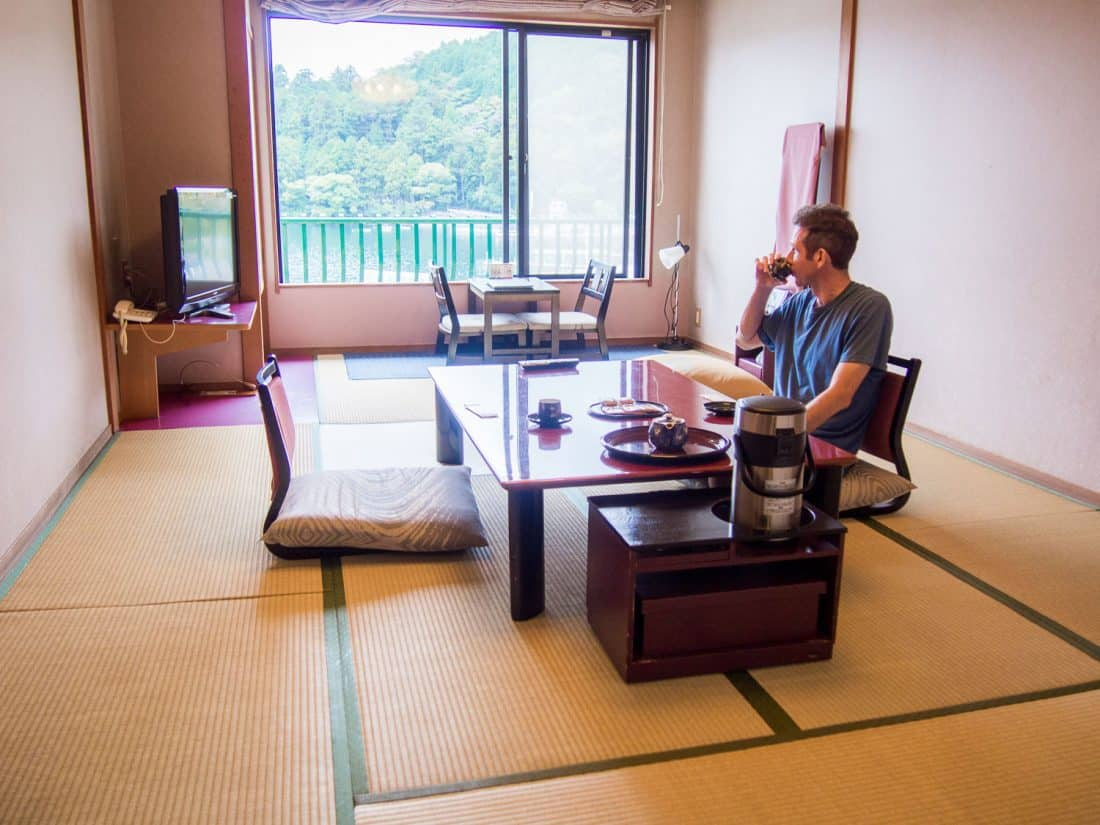 Hotel Mushashiya ryokan in Hakone