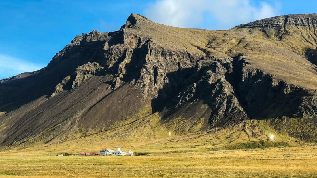 A drive through the Snaefellsness Peninsula on our Iceland road trip.