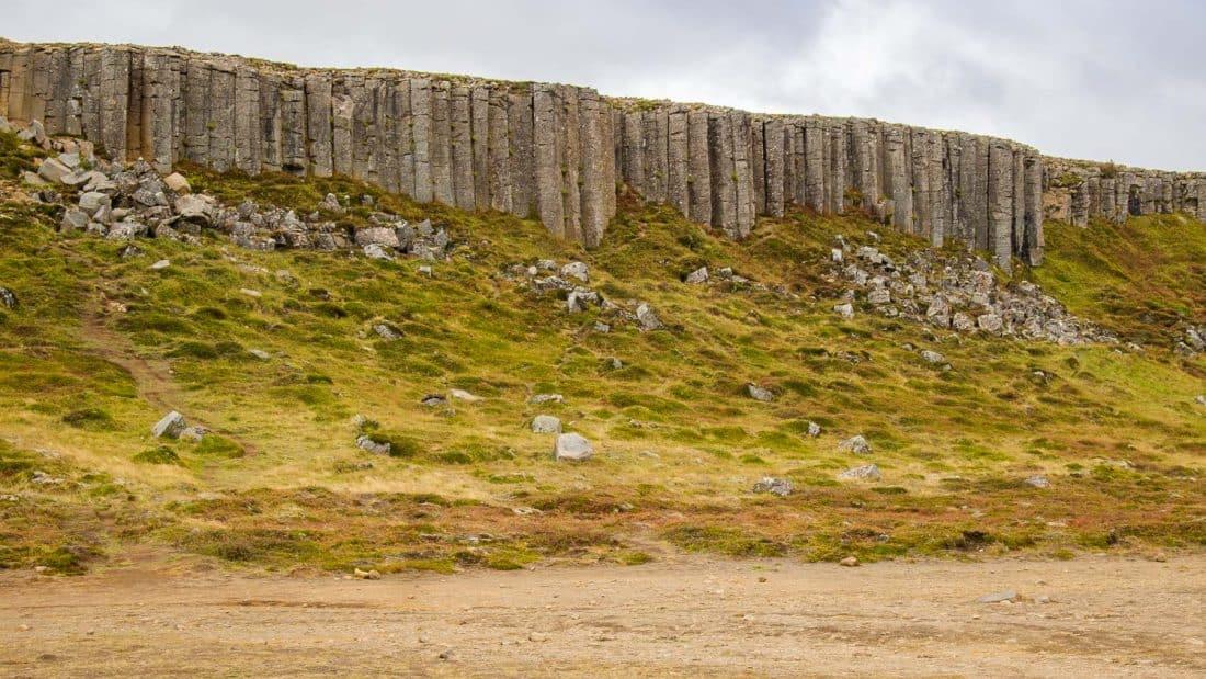 Gerðuberg Cliffs in Snaefellsness, Iceland