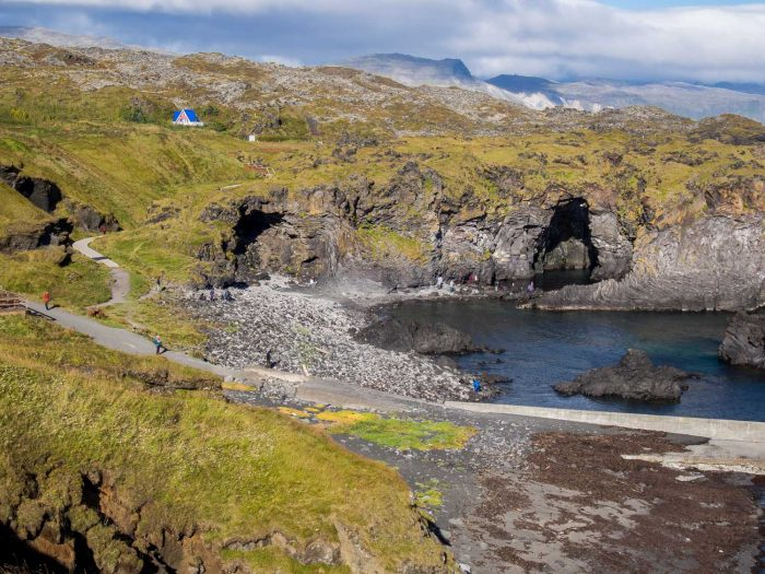 Snaefellsnes Peninsula Iceland travel guide - the best things to do in Snaefellsness from volcanoes to lava fields, waterfalls to glaciers.