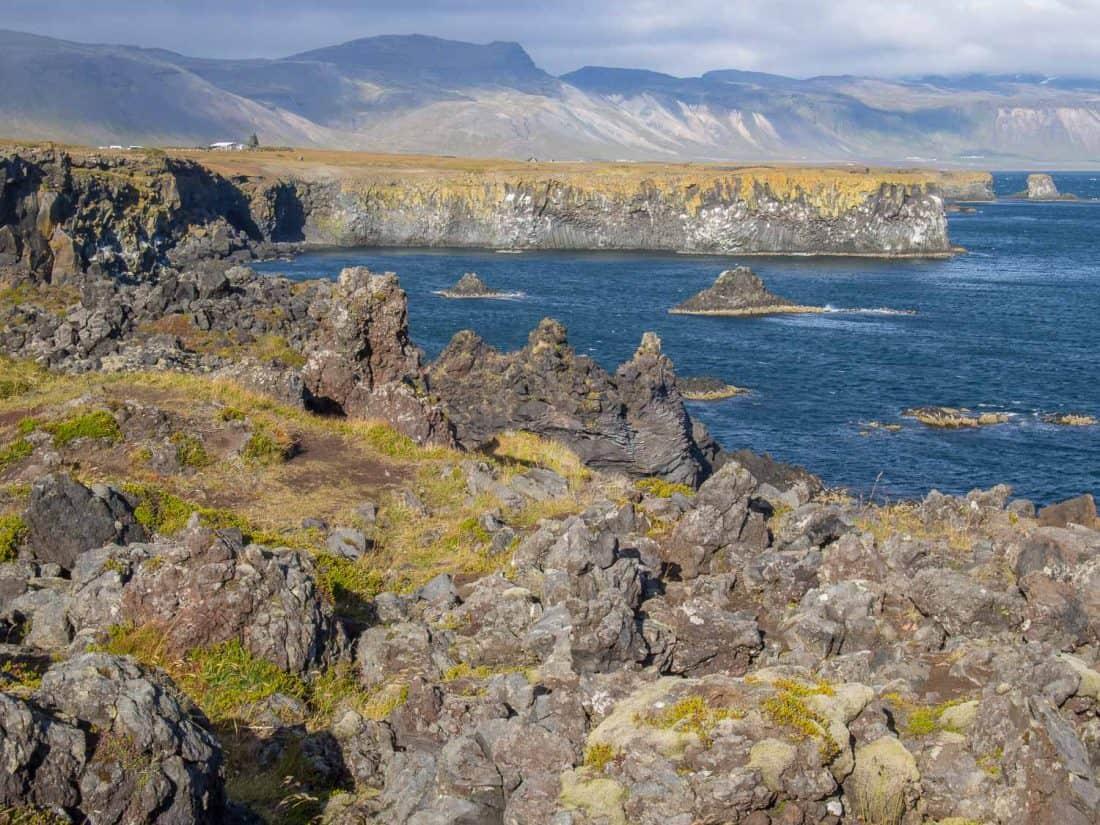 Arnarstapi to Hellnar hike in Snaefellsness