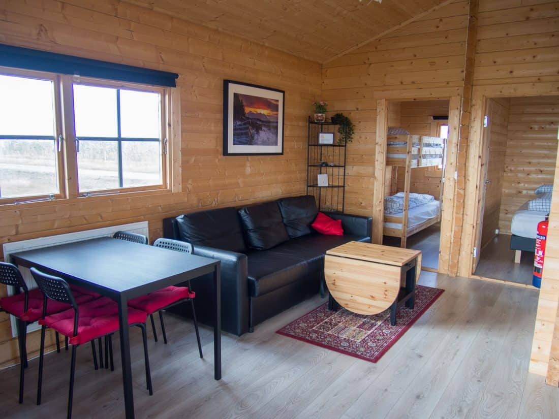 Our cabin at Tradir Guesthouse