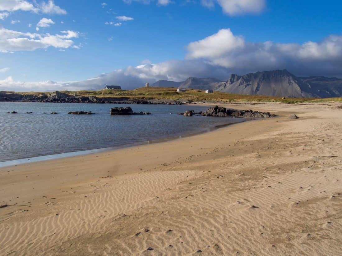 Ytri Tunga Seal Beach on the Snaefellsness peninsula, Iceland