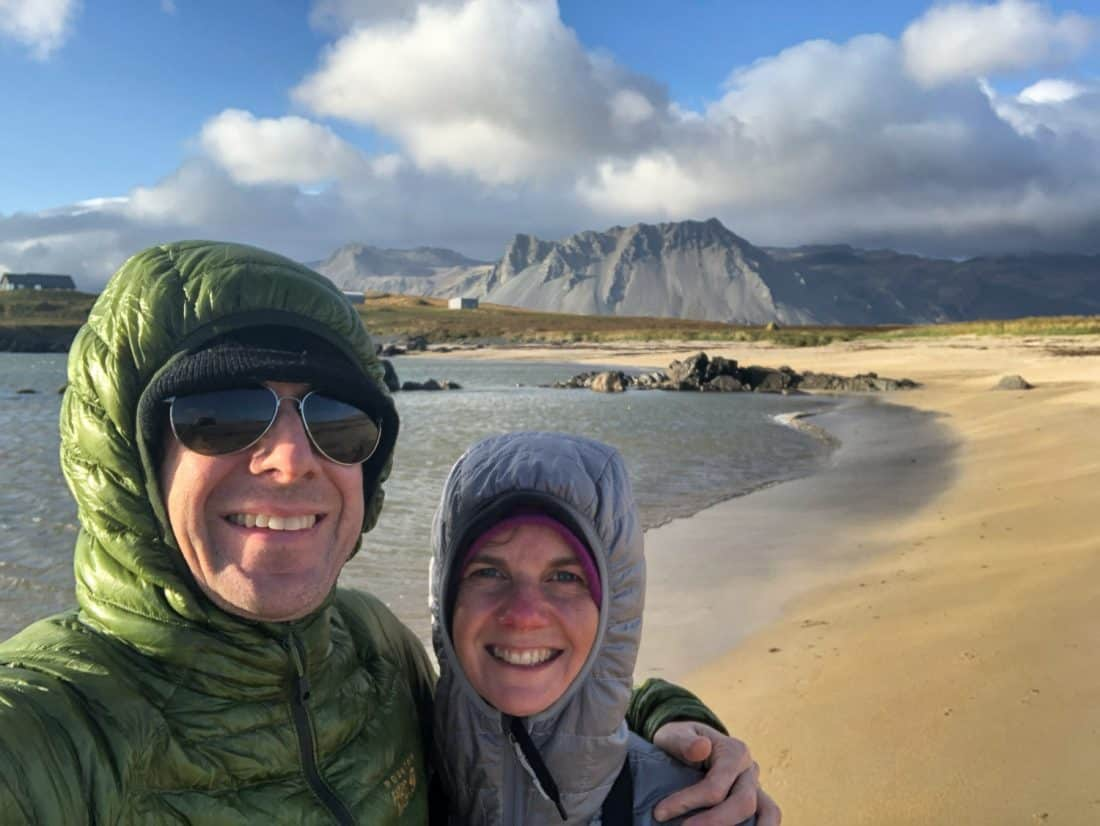 Ytri Tunga seal beach on our Iceland itinerary