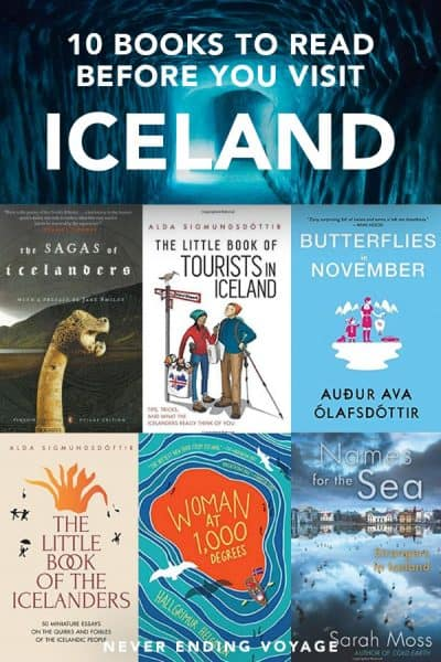 Traveling to Iceland? Here are 10 books to get you excited for you trip! #icelandtravel #icelandbooks #iceland