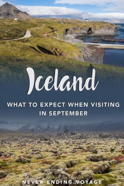 Should you visit Iceland in September? Yes! Here's what to expect. #iceland #icelandtrip #icelandtravel