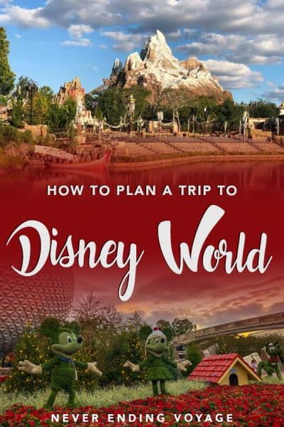 Planning a trip to Disney World can be overwhelming, so here's a complete guide! From where to stay, how to schedule your park visits, and more, it's all in this guide. #disneyworld #disneytips #disneytrip