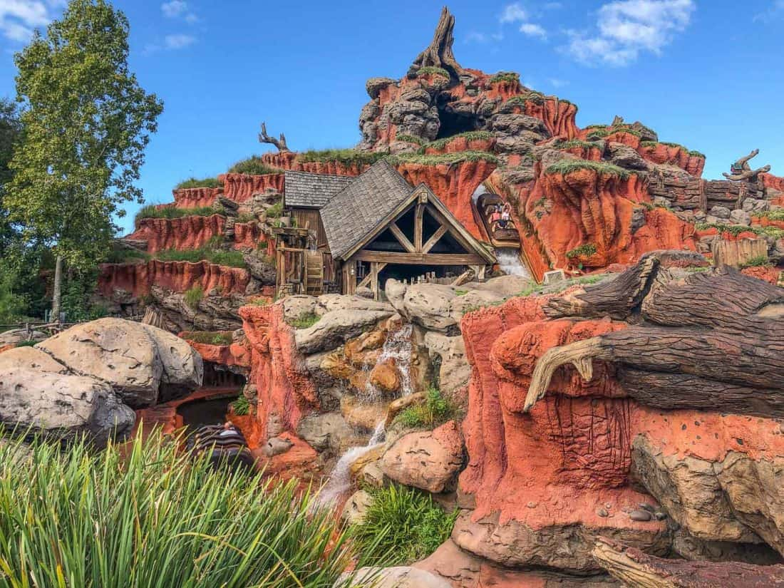 Splash Mountain is one of the best things to do at Disney World in the Magic Kingdom park