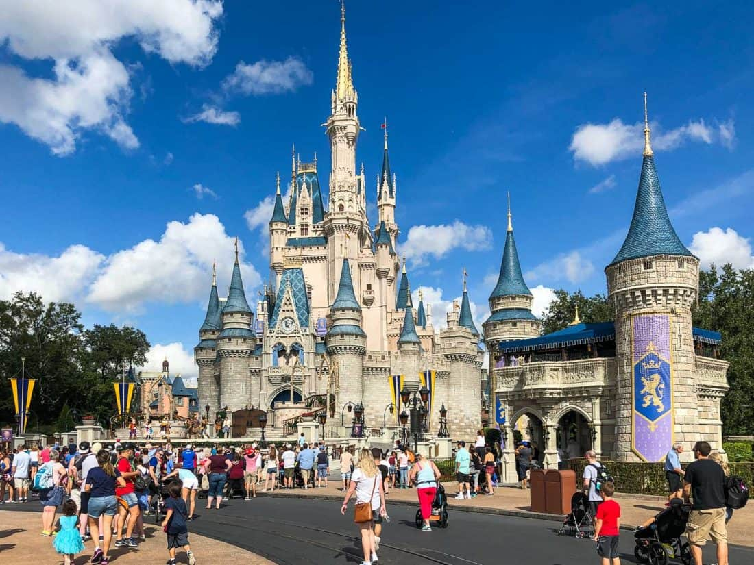 Cinderella Castle at Magic Kingdom is one of the best things to do at Disney World Florida