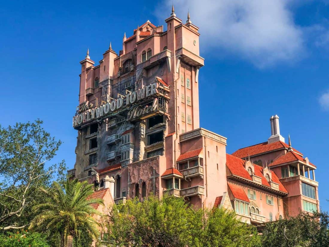 Twilight Zone Tower of Terror is one of the best things to do at Disney World and a top ride at Hollywood Studios