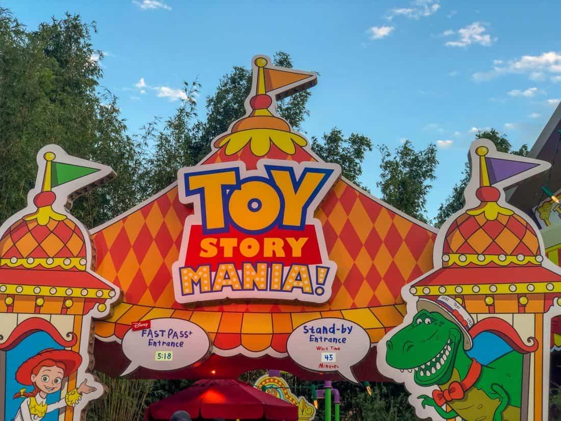 Toy Story Mania at Hollywood Studios, Disney World