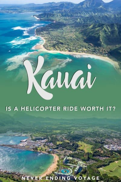 What's the best way to see Kauai or any of Hawaii? By helicopter! Here's what to expect on an open door helicopter ride. #kauai #hawaii #usa #hawaiitravel #thingstodoinhawaii