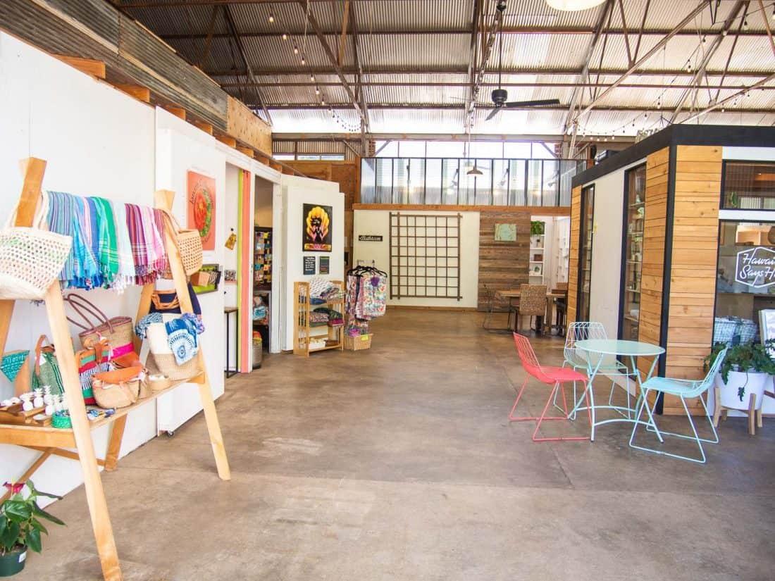 Warehouse 3540 a shopping a food truck space in south Kauai