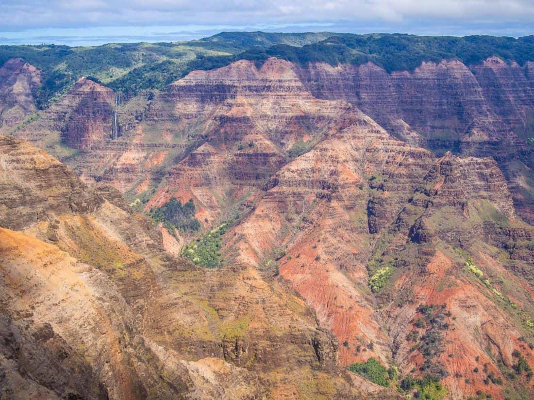Waimea Canyon view from the Waimea Canyon Lookout