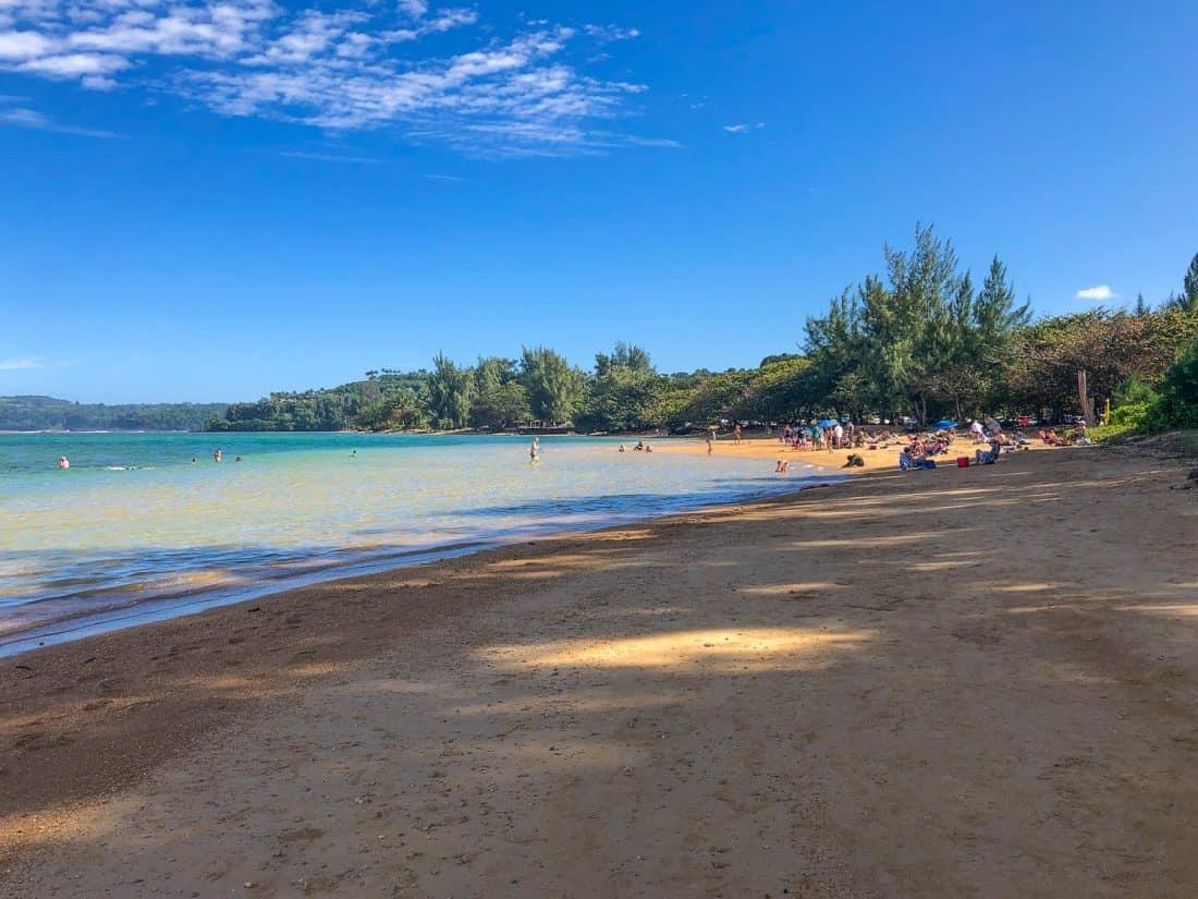 Anini Beach on the Kauai north shore