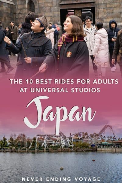 Is Universal Studios Japan really worth it for adults? Absolutely! Here are the 10 best rides to do while you're there!