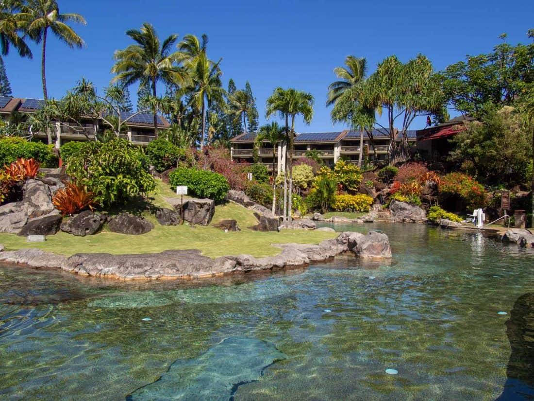 Hanalei Bay Resort pool in Kauai