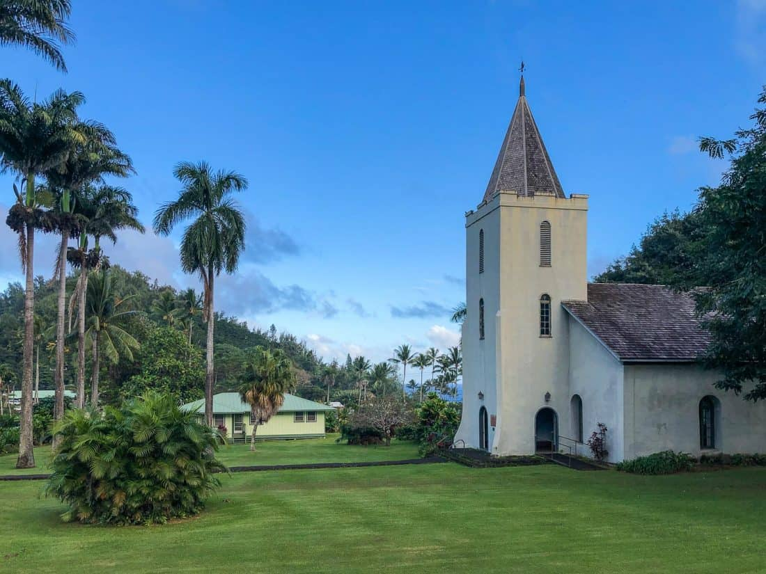 Wananalua Congregational Church in Hana, Maui