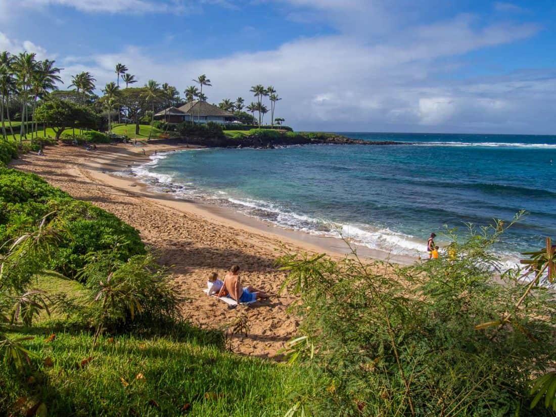 Kapalua Bay in West Maui
