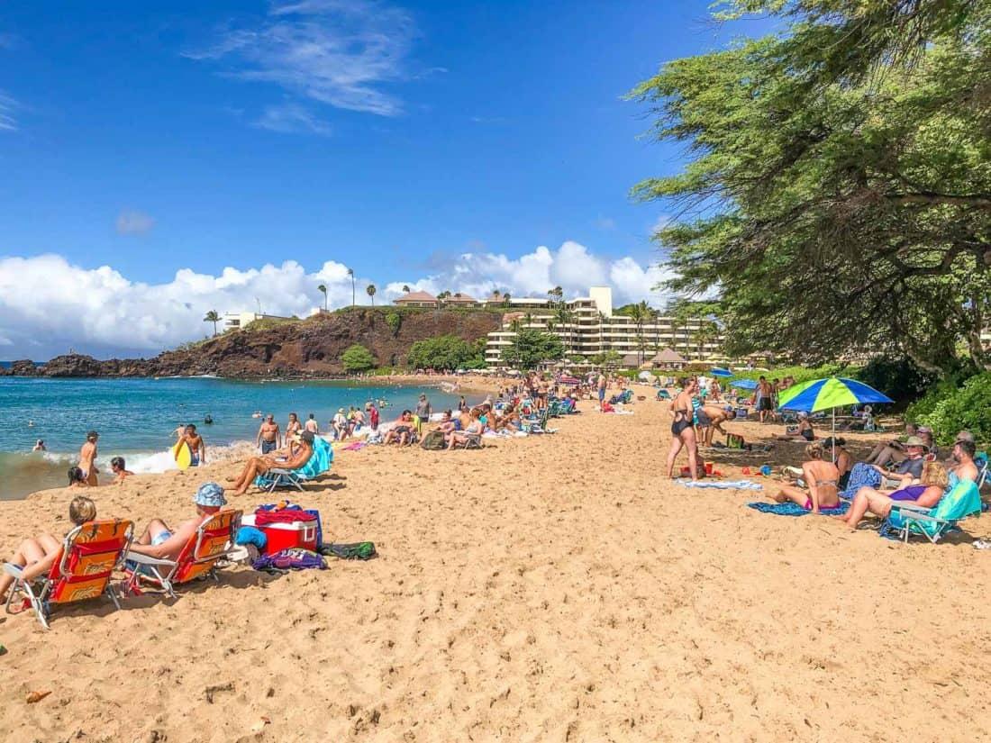 Kanapaali Beach in West Maui