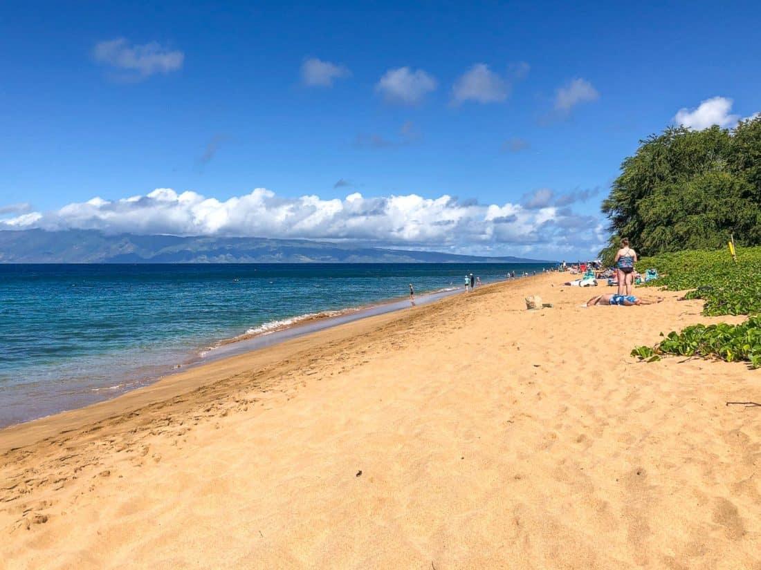 Airport Beach in West Maui