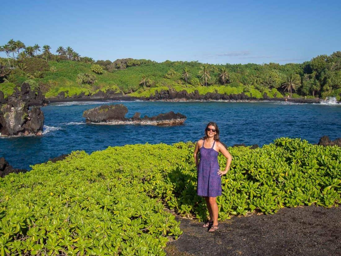 Wai'anapanapa State Park near Hana Maui