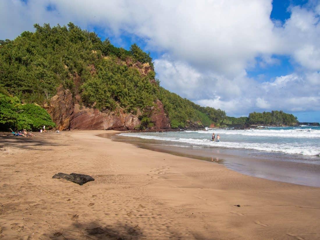 Koki Beach near Hana, Maui