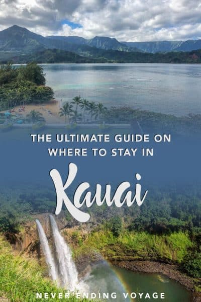 Wondering where to stay in Kauai in Hawaii? Here's your ultimate guide! #kauai #hawaii