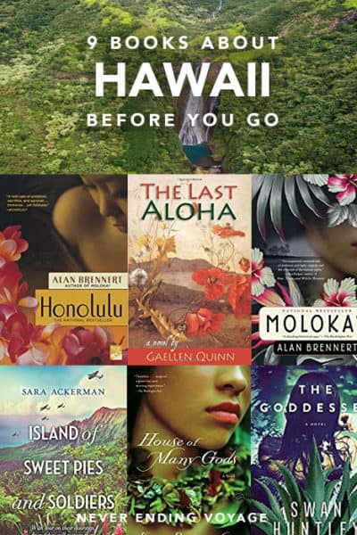 Here are the 9 best books to read before you travel Hawaii! #hawaii #reading #booktravel