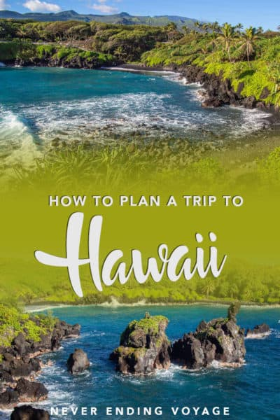Here are all the best tips for planning a trip to Hawaii. #hawaii #hawaiitrip