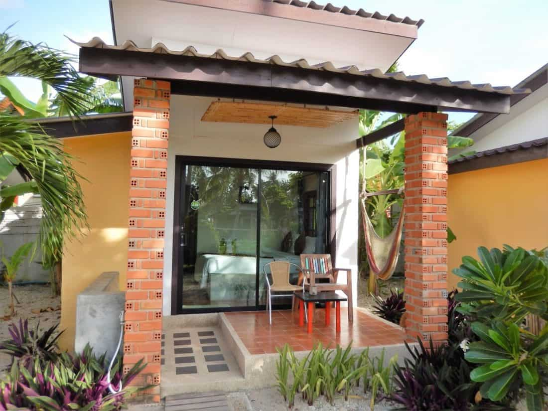 A budget bungalow at Coco Lanta Eco Resort on Koh Lanta. Thailand