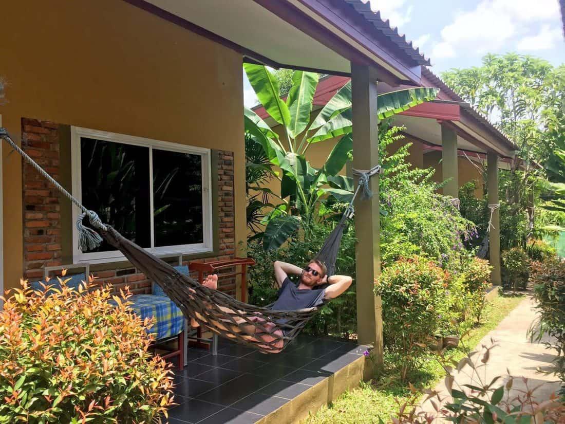 Lanta Baan Nok Resort bungalow on Koh Lanta