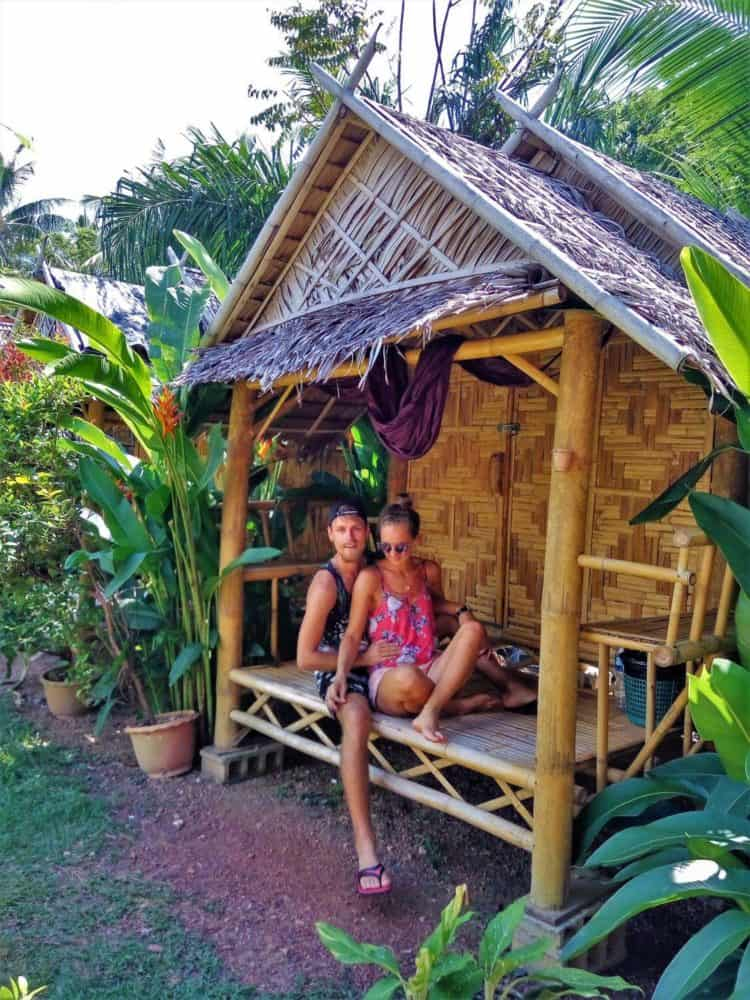 Ok Chawkoh Bungalow budget beach bungalows on Koh Lanta