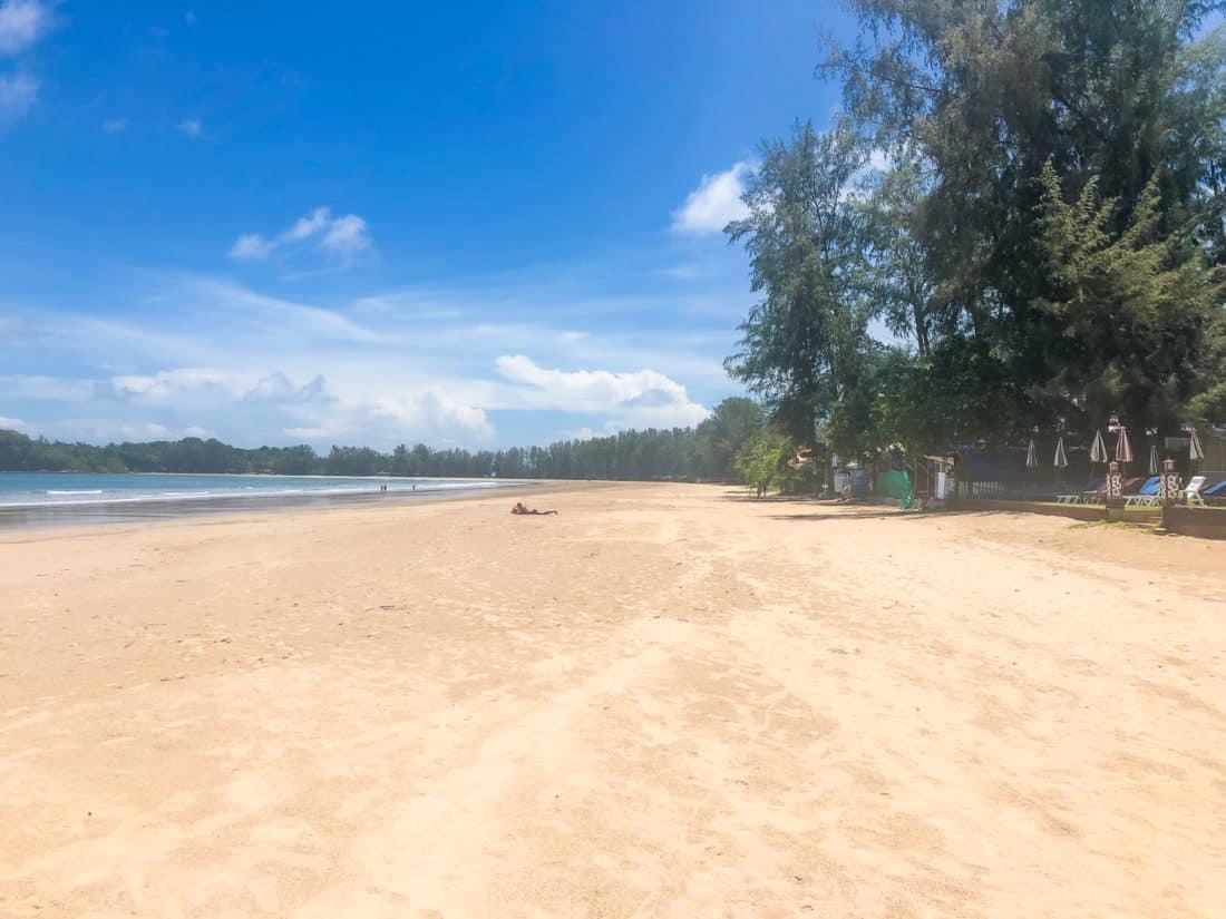 Khlong Dao beach in front of Royal Lanta Resort