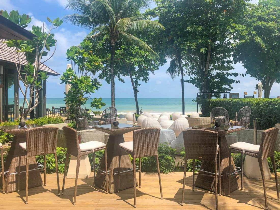 Beach Bar at Koh Lanta's Layana Resort