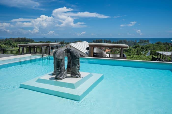 Pool at Malee Highlands on Koh Lanta, Thailand