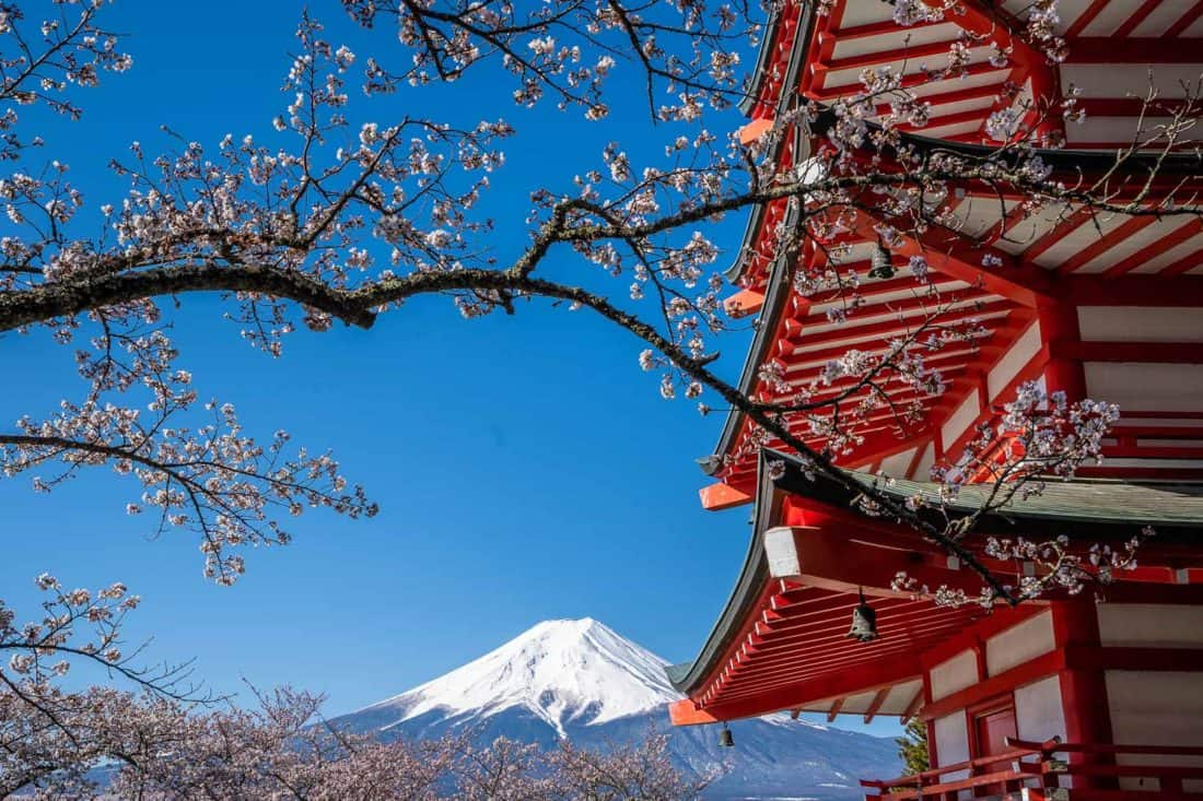The best things to do in Japan including seeing Mount Fuji