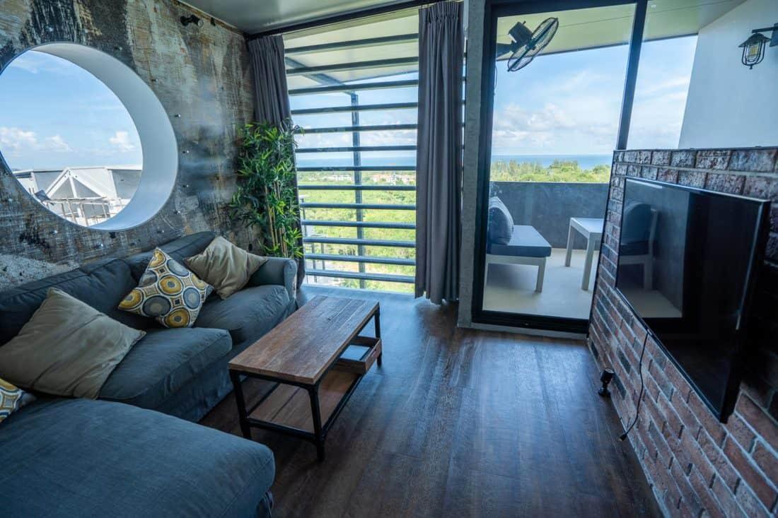 Living room at D4 Chill House at Malee Highlands, Koh Lanta