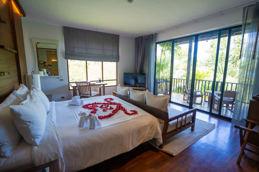 Our Deluxe Room at Pimalai Resort
